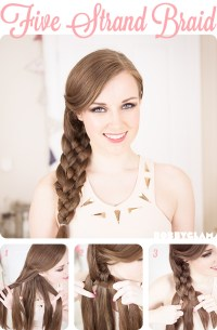 20 Most Beautiful Braided Hairstyle Tutorials for 2014
