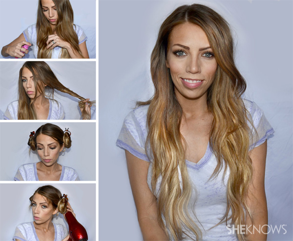 How To Make Beach Wave Hairstyle Easy Casual Hairstyles For Long