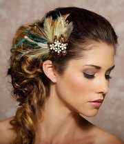 romantic floral wedding hairstyles