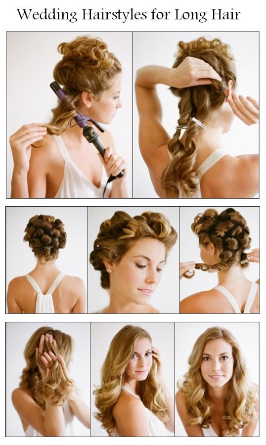 14 Wonderful Hairstyles With Tutorials for Long Hair  Pretty Designs