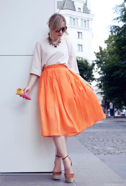 25 Trendy Midi Skirts Outfits  Pretty Designs