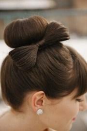 hair tutorials bow hairstyles