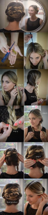 9 Pretty DIY Hairstyles With Step-by-Step Tutorials ...