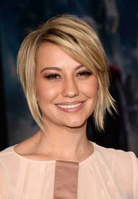 Chelsea Kane's Nice Blunt Ends Bob Hairstyle