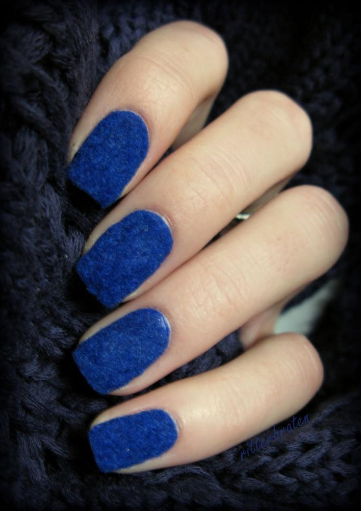 Velvet Nail Designs You Wont Miss  Pretty Designs