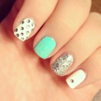 16 Pretty Gem Nail Designs You Wont Miss - Pretty Designs