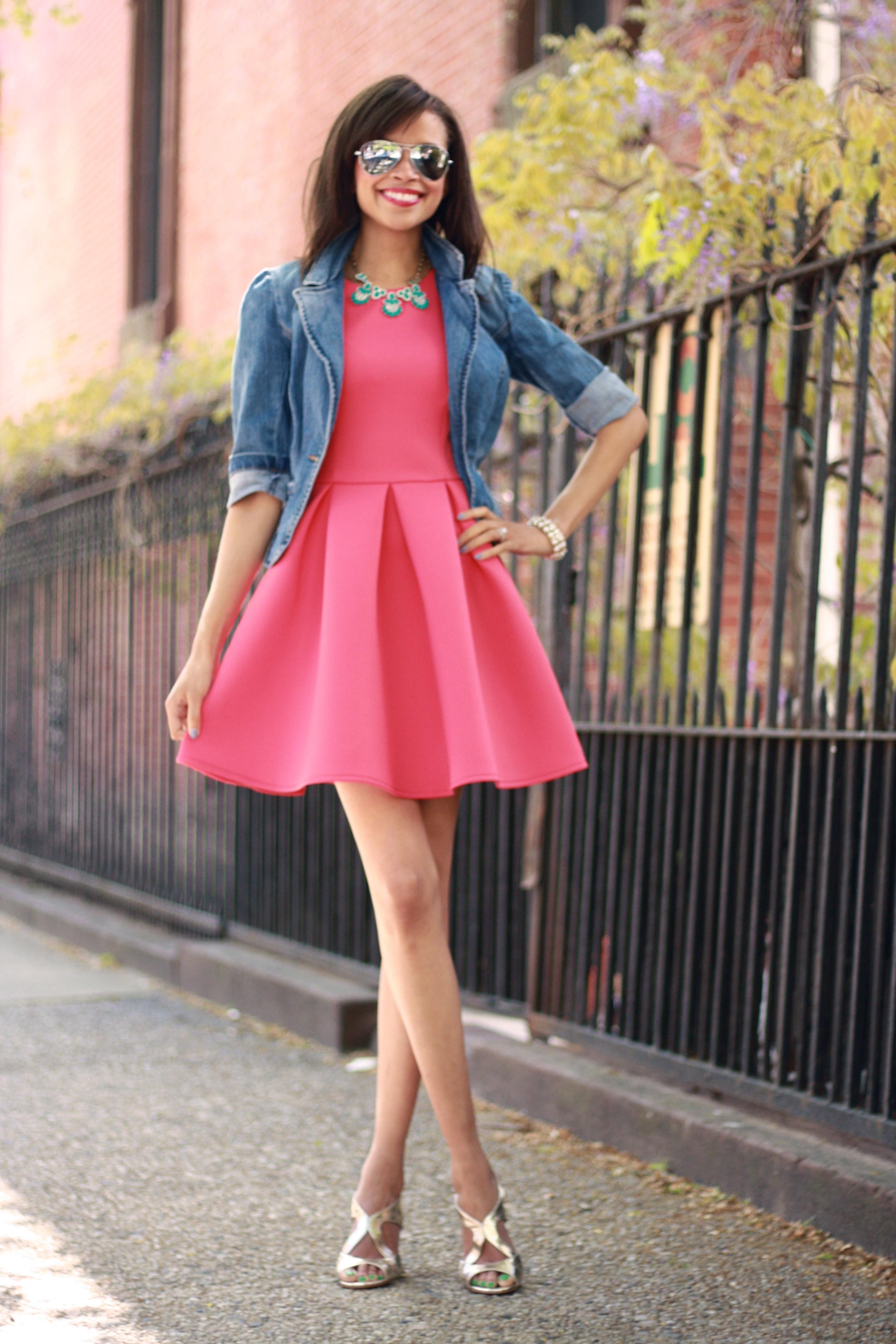 16 Ways To Wear The Pretty Little Pink Dress Trends Pretty Designs