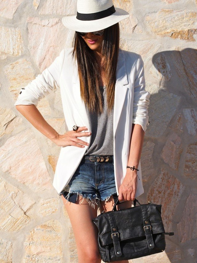 22 Fashionable Summer Outfit Ideas with a Hat  Pretty Designs