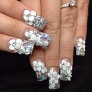 ultra-beautiful 3d nail arts