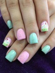 velvet nail design won t