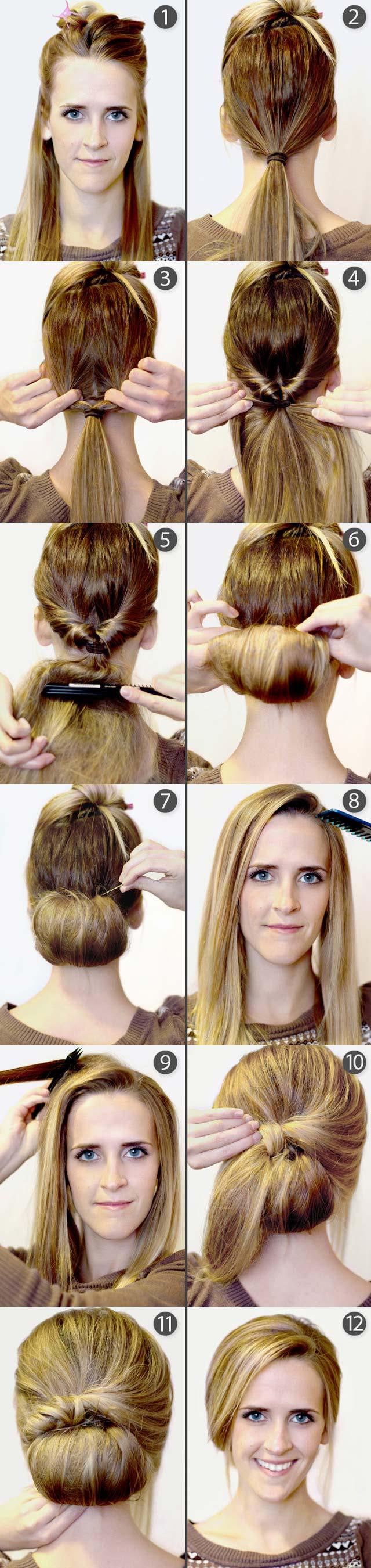 9 Pretty DIY Hairstyles With StepbyStep Tutorials  Pretty Designs