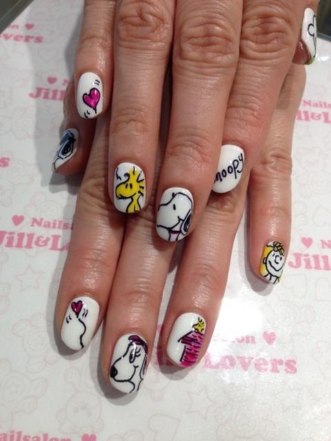 Nails To Try Cartoon Nail Ideas Pretty Designs