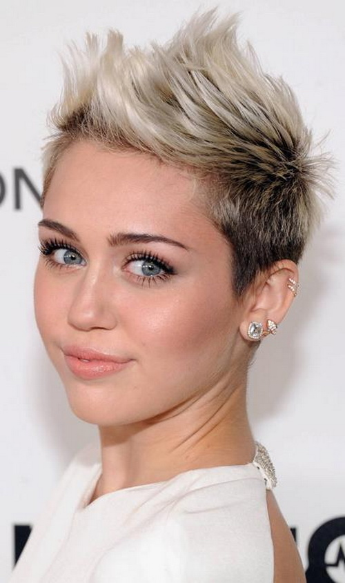 Awesome Short Hairstyle For Thin Hair And Round Face Ideas Styles Towards Gold Cuts