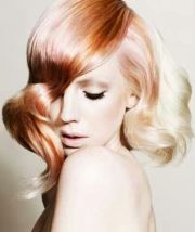 hair color rose gold