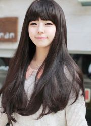 korean beautiful hair color