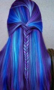hair color marvelous purple