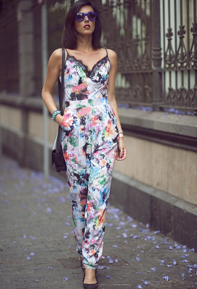 Beautiful Floral Jumpsuit for Summer
