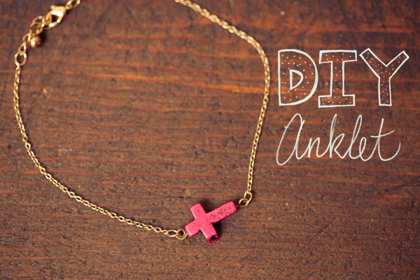 DIY Projects to Make Anklets  Pretty Designs