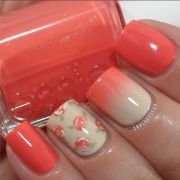 amazing coral nail design