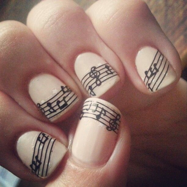Music Manicure for You to Rock  Pretty Designs