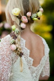 romantic braided wedding hairstyles