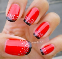 Red and Black Nails for You to Try