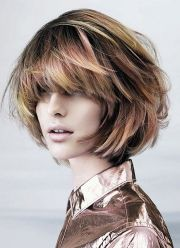 messy bob hairstyles 2014