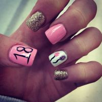 50 Stylish Happy Birthday Nail Art Ideas | Nail Design Ideaz