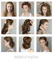 glamorous retro hairstyle tutorials