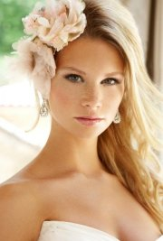 ideal wedding hairstyles and makeup