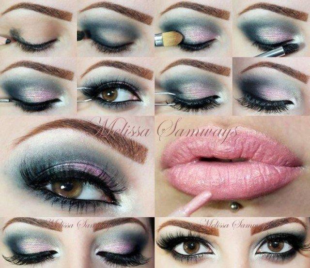 Glamour Eye Makeup Tutorial Jidimakeup