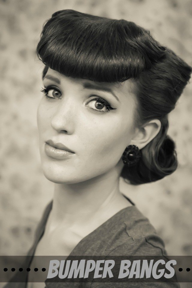 14 Glamorous Retro Hairstyle Tutorials  Pretty Designs