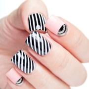 fabulous striped nail art ideas