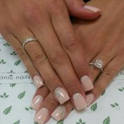 fabulous wedding nail design