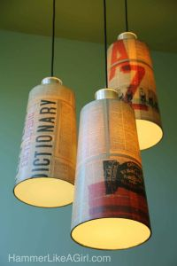 Do It Yourself: Lampshade Tutorials - Pretty Designs
