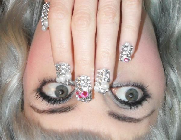 Brilliant New Year Eve Nail Designs