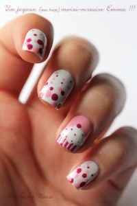 14 Awesome Cupcake Nail Art Designs for Girls - Pretty Designs