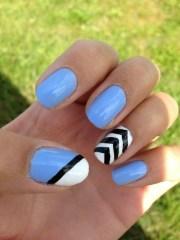 nail trend chevron nails