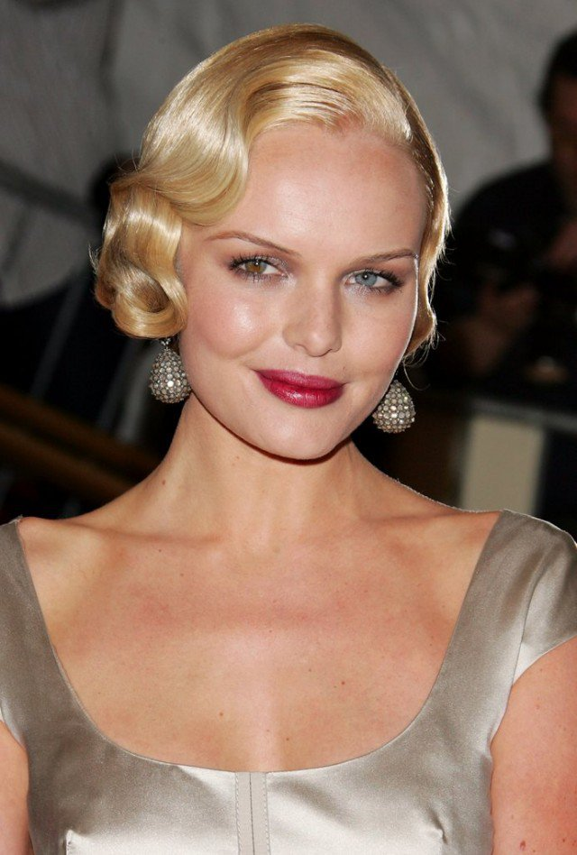 It Girl Style Vintage Curly Hairstyles Pretty Designs