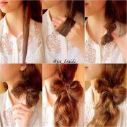 pretty hairstyle tutorial stylish