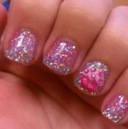 awesome cupcake nail art design