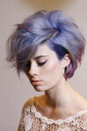 purple highlights summer