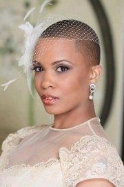 chic short wedding hairstyles
