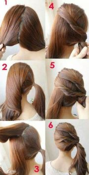 7 easy step hair tutorials