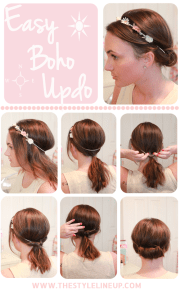 pretty boho style braids tutorials