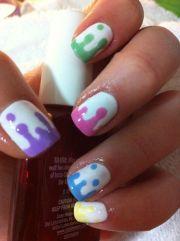 colorful nails summer
