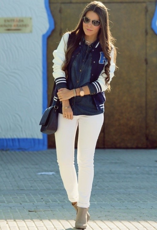 Trendy Ways to Wear Your White Jeans for Different Occasions  Pretty Designs