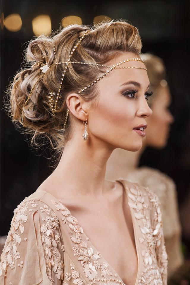 stunning bridal hair accessory