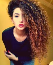 ultra-chic long curly hairstyles