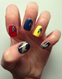 15 Super Cool Star Trek Nail Designs - Pretty Designs